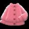 Aran-Knit Cardigan (Pink) NH Icon.png