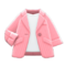 Career Jacket (Peach) NH Icon.png