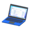 Laptop (Blue - Search Engine) NH Icon.png