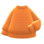 Simple Knit Sweater (Camel) NH Icon.png
