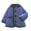 Quilted Down Jacket (Navy Blue) NH Icon.png