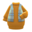 Shawl-and-Dress Combo (Ochre) NH Icon.png