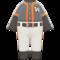 Baseball Uniform (Orange) NH Icon.png
