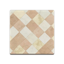 Brown Argyle-Tile Flooring