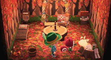 Interior of Poppy's house in Animal Crossing: New Horizons