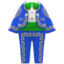 Mariachi Clothing (Blue) NH Icon.png