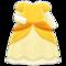 Princess Dress (Yellow) NH Icon.png