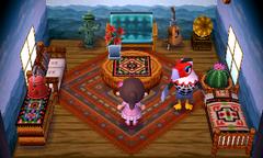 Amelia's house interior