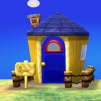 Stinky's house exterior
