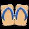Kimono Sandals (Dark Blue) NH Icon.png