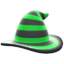 Mage's Striped Hat (Green) NH Icon.png