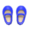 Mary Janes (Blue) NH Icon.png