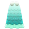 Shell Dress (Mint) NH Icon.png