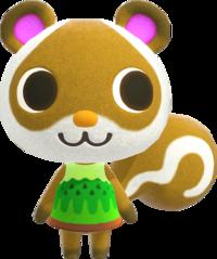 Sylvana, an Animal Crossing villager.