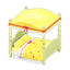 Cute Bed (Yellow)