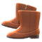 Velour Boots (Brown) NH Icon.png