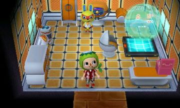 Interior of Mira's house in Animal Crossing: New Leaf