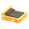 Frozen Bed (Ice Yellow - Dark Brown) NH Icon.png