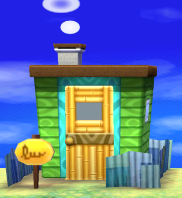 Exterior of Tad's house in Animal Crossing: New Leaf