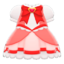 Magical Dress (Red) NH Icon.png
